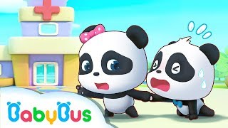 Baby Panda is Afraid of Checkup | Baby Panda's Magic Bow Tie | Magical Chinese Characters | BabyBus
