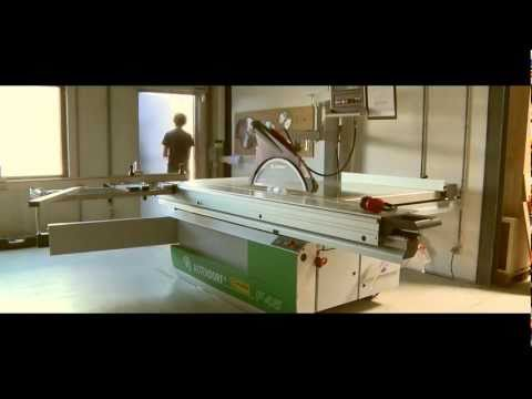 Altendorf F45 changing a saw blade