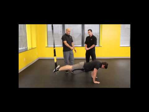 TRX Suspension Trainer Pike Golf Fitness Exercise