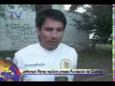 Jefferson Pérez recibirá presea fundación de Cuenca