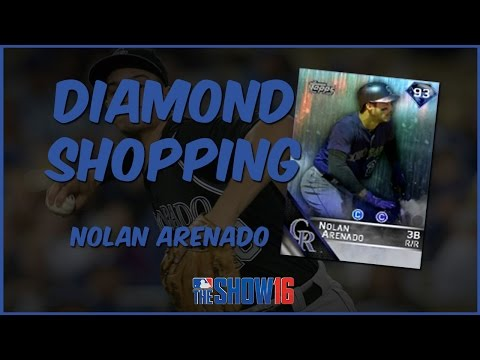 MLB 16 The Show Diamond Dynasty | Diamond Shopping - Diamond Nolan Arenado Gameplay