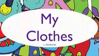 Kids Learn Clothing Vocabulary (phrases 1)