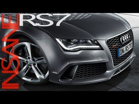 Audi RS7: Driving & Sound
