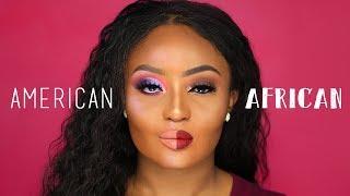 Download Lagu American VS African Makeup Gratis STAFABAND