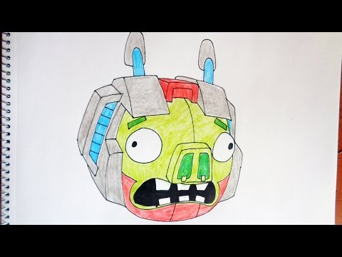 Angry Birds Transformers Drawings ▶ How to Draw Angry Birds
