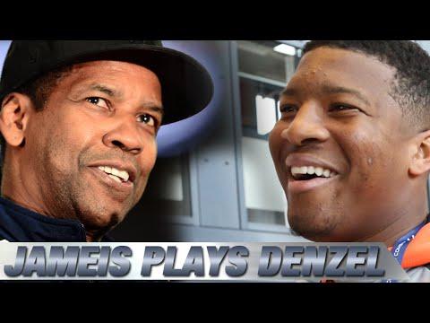 Jameis Winston Plays Denzel Washington in