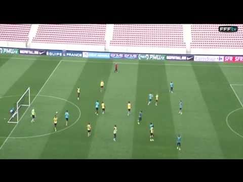 Extraordinary GOAL from Sagna  - World Cup Training