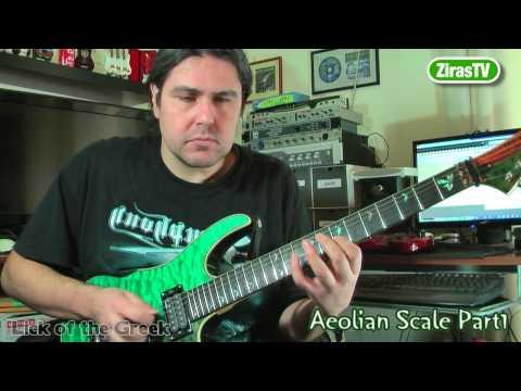 Μαθήματα Κιθάρας (#4) || Aeolian Scale/Μινόρε Κλίμακα