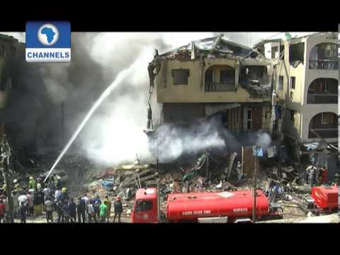 Lagos explosion: Fashola vows to deal with owner of stored fire crackers