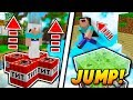 TNT AND SLIME JUMPING TROLL Minecraft SKYWARS TROLLING NEW UPDATE mp3