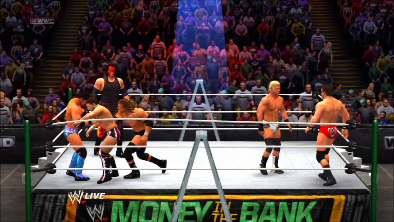 wwe money bank games