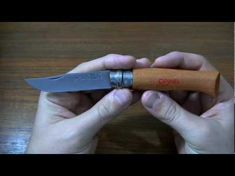 Мысли о ноже: Opinel No.8