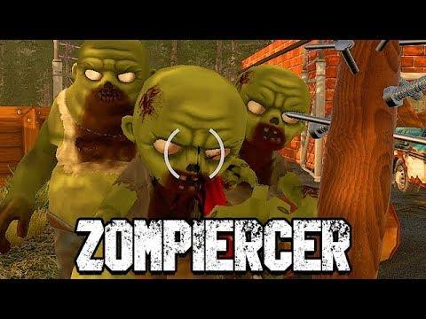 ENDLICH eine richtige WAFFE gefunden - Zompiercer Gameplay Deutsch