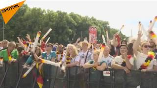 Germany vs Mexico: Live From World Cup 2018 Watch Party in Berlin