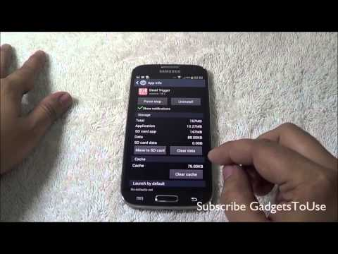 Galaxy S4 Move Apps From Phone Memory to SD Card. Install Apps on SD
