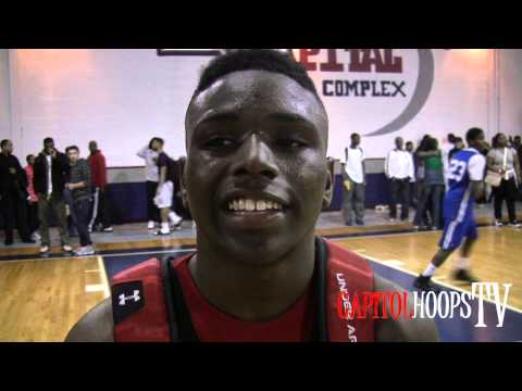 Aquille Carr - Quick Interview UA Panthers beat DC Assault