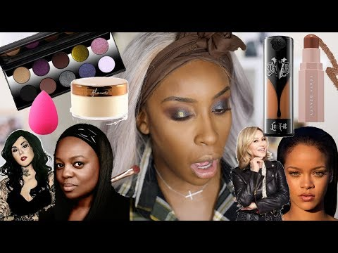 Full Face of WOMEN OWNED Beauty Brands! | Jackie Aina