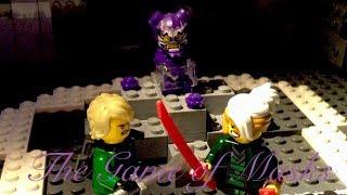Lego Ninjago The Game of Masks Scene Recreation (with error)
