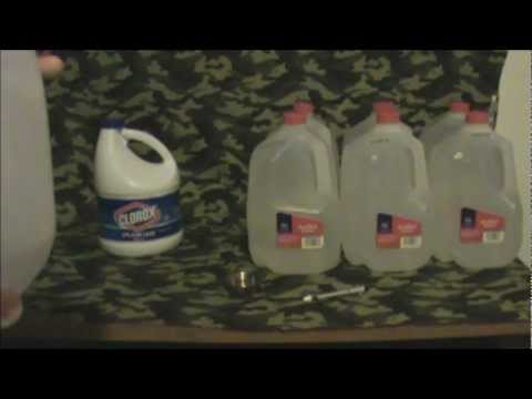 How To Store Emergency Water In Milk Jugs (SHTF)