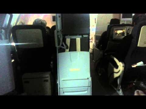 Air France economy seat plus