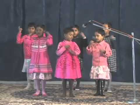 Sunday school action songs HIndi, Sahara Kiran, Anmol Kids, Bhopal, India