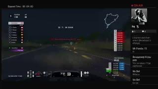 DervishRed's Live PS4 Broadcast - Gran Turismo Sport 6h GT3 custom race