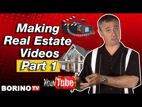 Real Estate Marketing Tip: How To Make Videos - Part 1