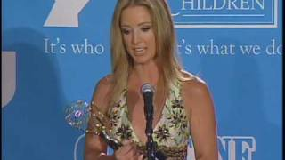 Press Room Clip OLTL's  Susan Haskell Lead Actress Winner 36th Annual Daytime Emmys