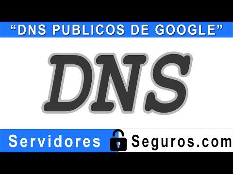 COMO UTILIZAR LOS DNS PUBLICOS DE GOOGLE