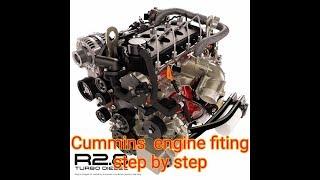 कमिंस ISB || इंजन एनीमेशन  |Cummins ISB || Engine animation |