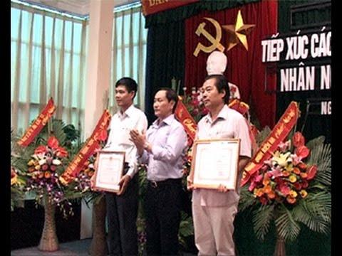 Phường Ngọc Sơn tiếp xúc kỷ niệm 10 năm ngày doanh nhân Việt Nam