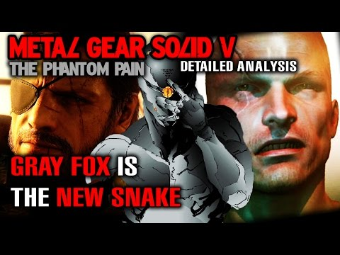 MGS5 Detailed Analysis - GRAY FOX is the New Snake & more! - MGSV The Phantom Pain Analysis (HD)