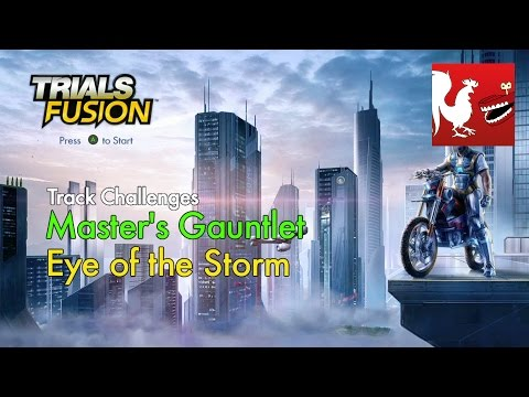 Trials Fusion - Master's Gauntlet - Eye of the Storm