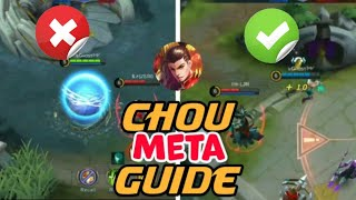 Conquer the immune king | Master chou completely after this video | Mobile legends