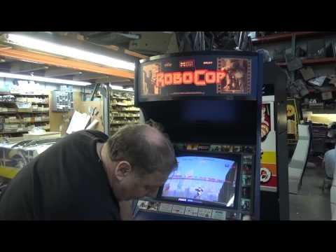 #663 Data East ROBOCOP Arcade Video Game-Dedicated Cabinet -TNT Amusements
