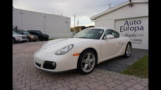 The Last Great 'Classic' Porsche? This Ultra-Pure 2009 Cayman Coupe is a True Driver's Car