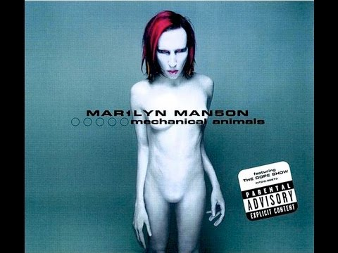 Marilyn Manson - Mechanical Animals (full Album) Hd video