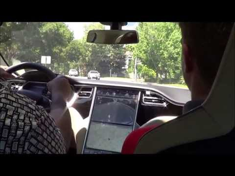 2013 Tesla Model S Peformance (P85) Test Drive