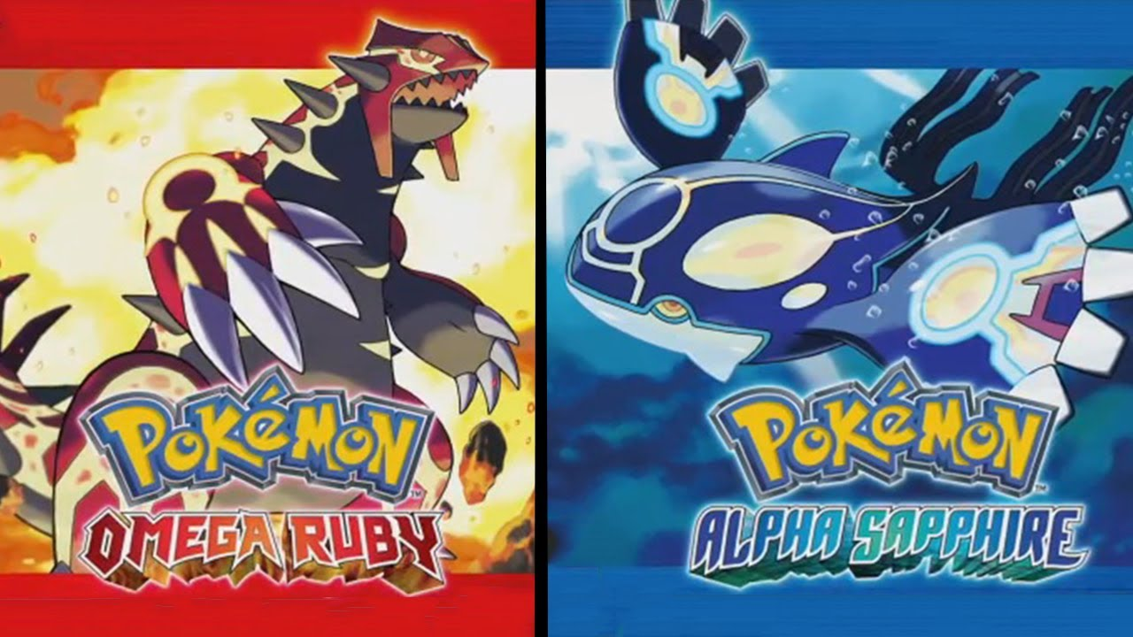 Pokmon Omega Ruby And Alpha Sapphire