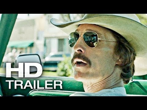 DALLAS BUYERS CLUB Offizieller Trailer Deutsch German | 2014 Matthew McConaughey [HD]