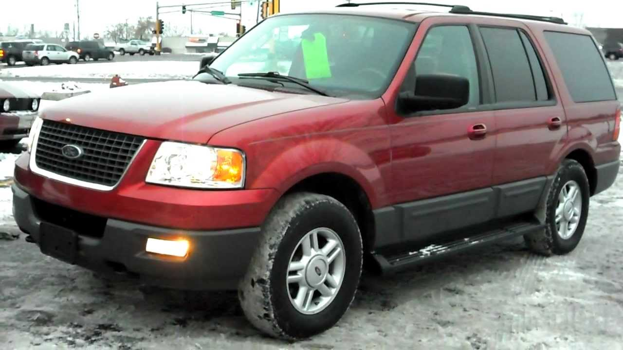 expedition ford 2003 xlt 4x4 v8 passenger