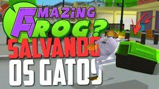 SALVANDO OS GATOS PERDIDOS! - Amazing Frog ‹ Bitgamer ›