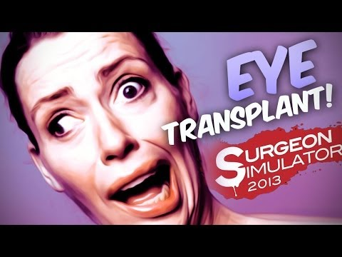 EYE TRANSPLANT! - Surgeon Simulator Ipad