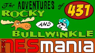 431/714 The Adventures of Rocky and Bullwinkle and Friends - NESMania