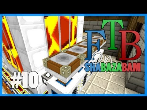 Minecraft FTB - Ep.10 - Making Lava & Industrial Blast Furnace