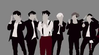 BTS War of Hormone Cover rotoscoped