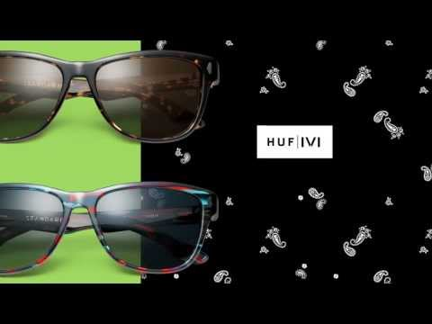 IVI x HUF Collab Sunglasses Video Lookbook