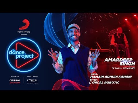 Hamari Adhuri Kahani - The Dance Project | Amardeep Singh | Lyrical Robotic