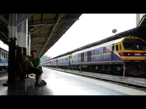 SRT State Railway of Thailand — Double Headed and False Departures from Bangkok