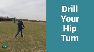 The best drill to increase the hip turn in your golf swing.